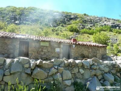 Laguna Grande,Garganta Gredos;ruta senderismo la jarosa guadarrama viajes en octubre floracion valle
